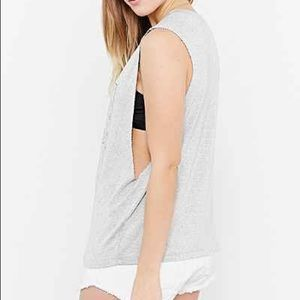 Truly Madly Deeply Grey Muscle Tank